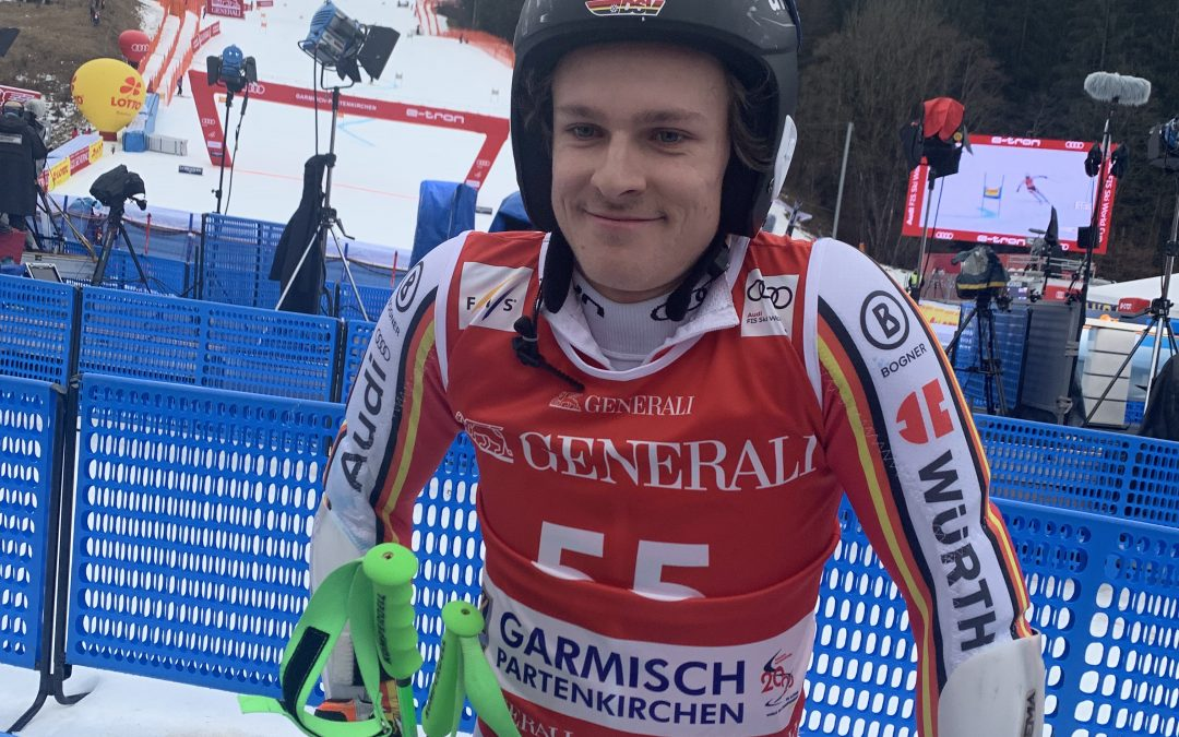 1. WorldCup Start für Fabian Gratz